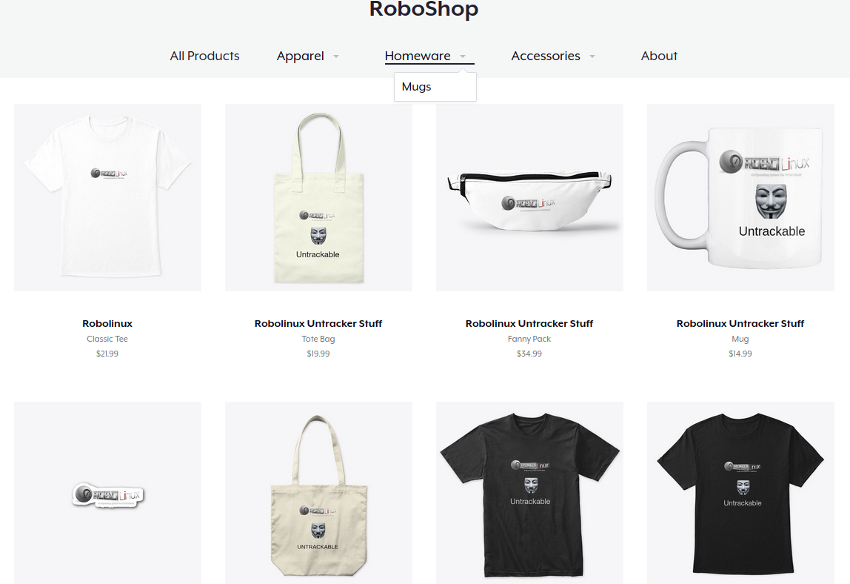 The Robolinux store